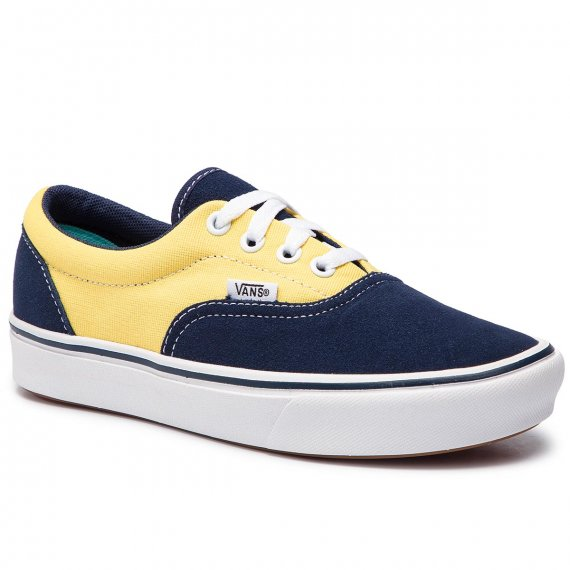 Tenisówki VANS - Comfycush Era VN0A3WM9VNO1 (Suede/Canvas) Dress Blue
