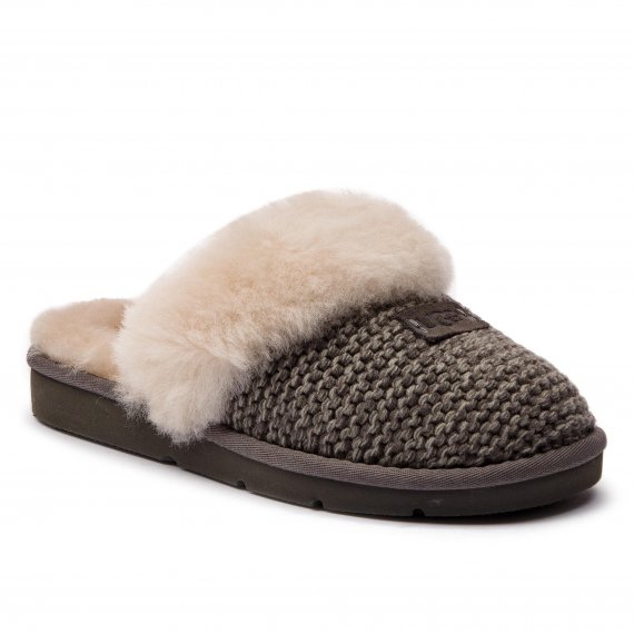 Kapcie UGG - W Cozy Knit Slipper 1095116 W/Chrc