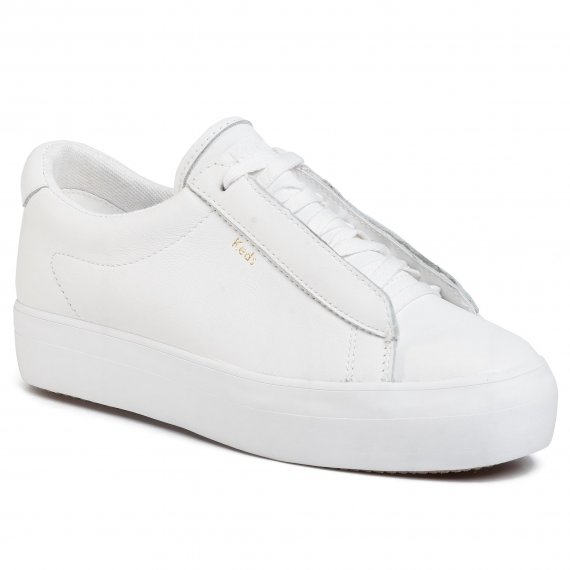 Sneakersy KEDS - Rise Metro WH61100 Leather White