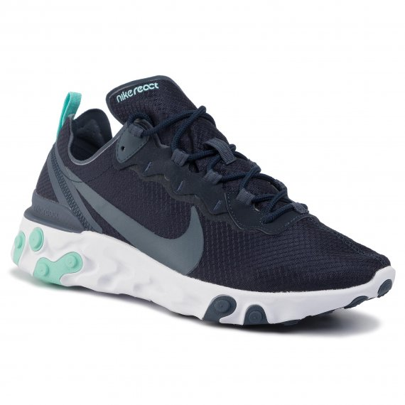 Buty NIKE - React Element 55 CI2678 400 Dark Obsidian/Monsoon Blue