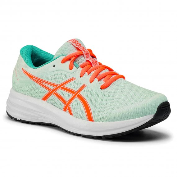 Buty ASICS - Patriot 12 Gs 1014A139 Bio Mint/Sunrise Red 300