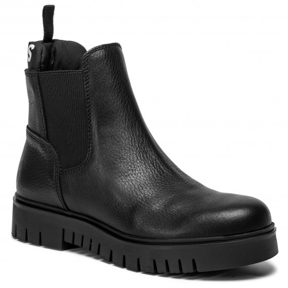 Sztyblety TOMMY JEANS - Padded Tongue Chelsea Boot EN0EN00620 Black 990