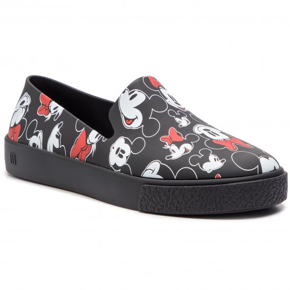 Lordsy MELISSA - Ground + Mickey Ad 32533 Black/White/Red 53463