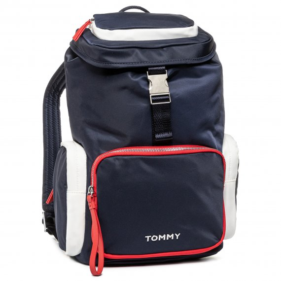 Plecak TOMMY HILFIGER - Th Nylon Backpack AW0AW07695 0GY