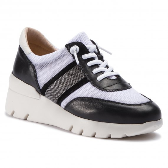 Sneakersy HISPANITAS - Ruht HV98550 Black/Bianco 1