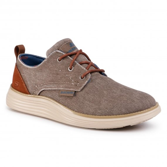 Sneakersy SKECHERS - Pexton 65910/TPE Taupe