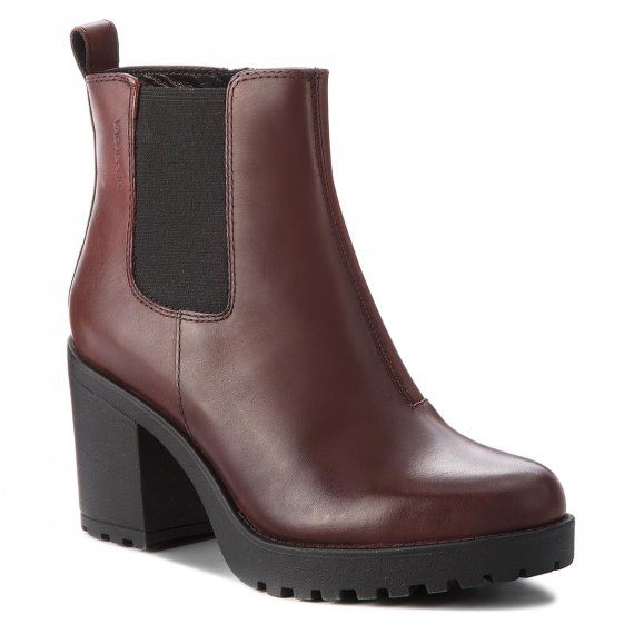 Botki VAGABOND - Grace 4228-101-39 Bordo
