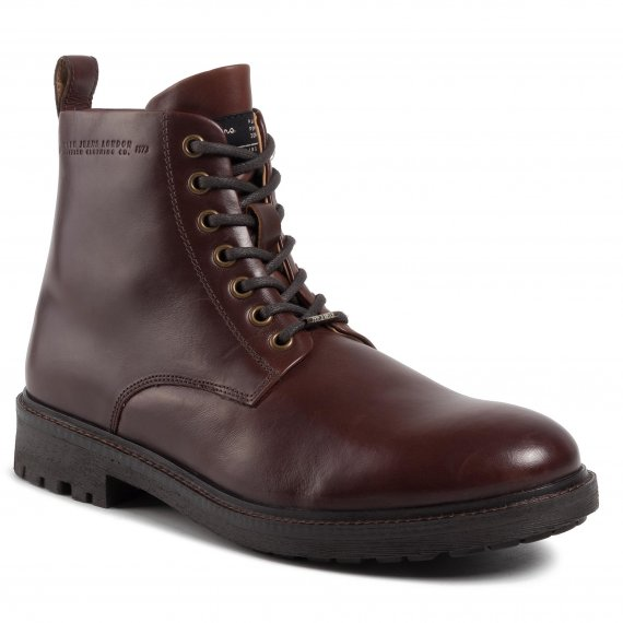 Trapery PEPE JEANS - Porter Boot Basic PMS50179 Burgundy 299