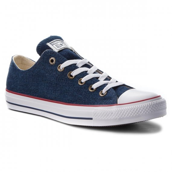 Trampki CONVERSE - Ctas Ox 161489C Dark Blue/Natural Ivory/White