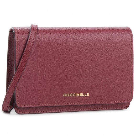 Torebka COCCINELLE - CV3 Mini Bag E5 CV3 55 D6 05 Grape R04