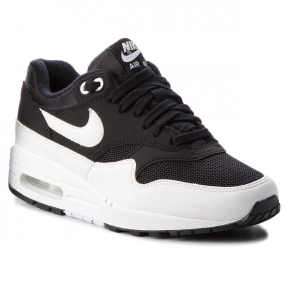 Buty NIKE - Air Max 1 319986 034 Black/White