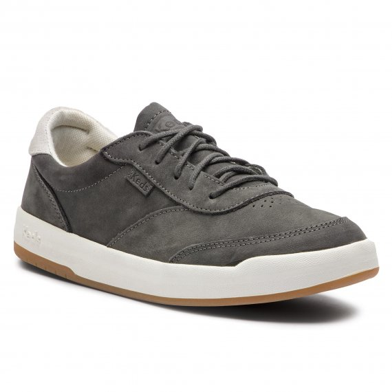 Półbuty KEDS - Match Point KWH59015 Nubuck Dk Grey