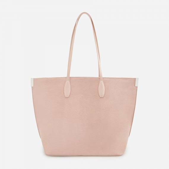 Reserved - Torba typu shopper - Kremowy