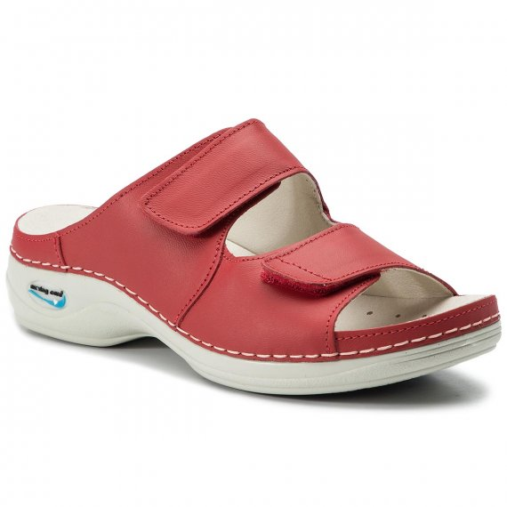 Klapki NURSING CARE - Viena WG817 Red