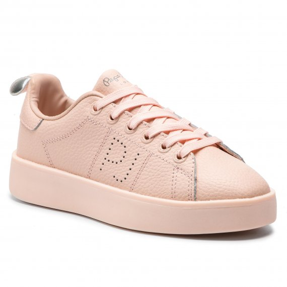 Sneakersy PEPE JEANS - Brixton Block PLS30820  Mauve Pink 319