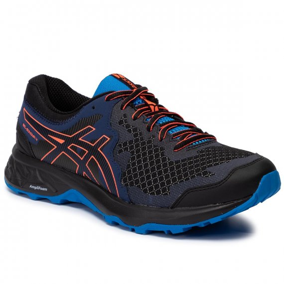 Buty ASICS - Gel-Sonoma 4 1011A177  Black/Flash Coral 003