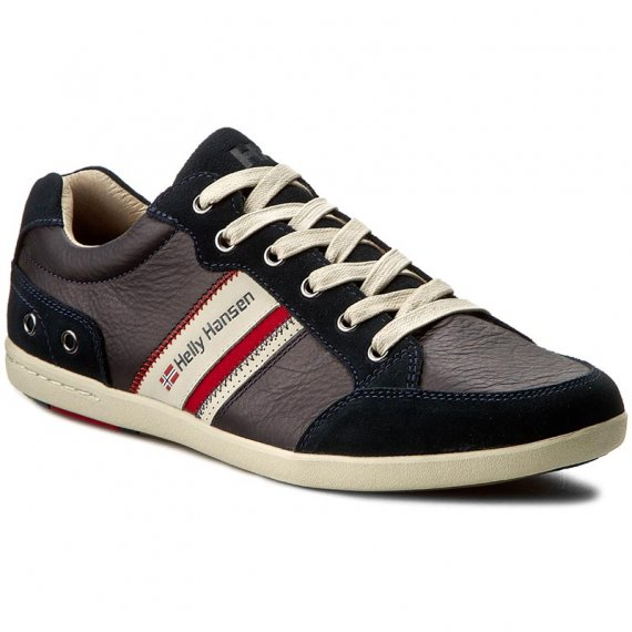 Sneakersy HELLY HANSEN - Kordel Leather 109-45.597 Navy/Natura/Sperry Gum