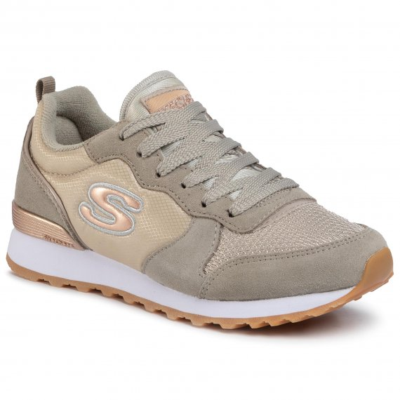 Sneakersy SKECHERS - Golden Gurl 111/TPE Taupe