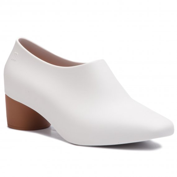 Półbuty MELISSA - Mid Ad 32438 White/Brown 52340