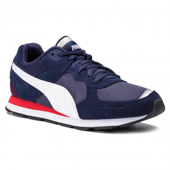 Sneakersy PUMA - Vista 369365 02  Peacoat/Puma White/Red