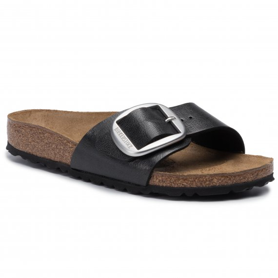 Klapki BIRKENSTOCK - Madrid Big Buckle 1015315 Graceful Licorice