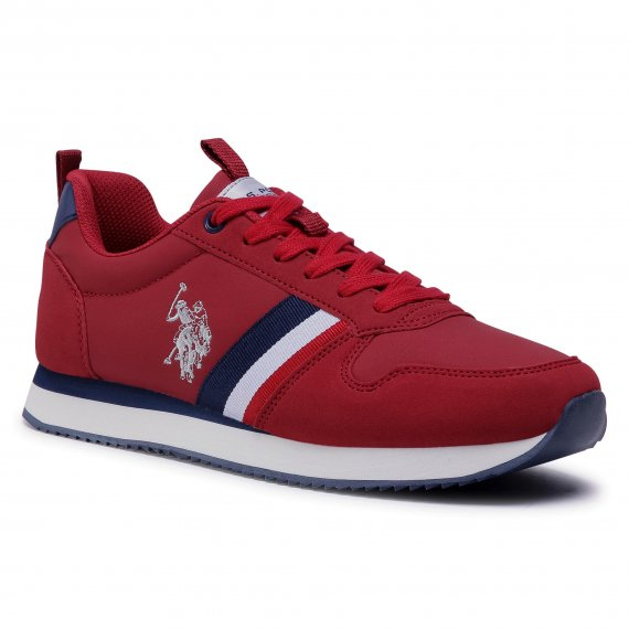 Sneakersy U.S. POLO ASSN. - Nobi1 Club NOBIL4243S0/YH1 Red