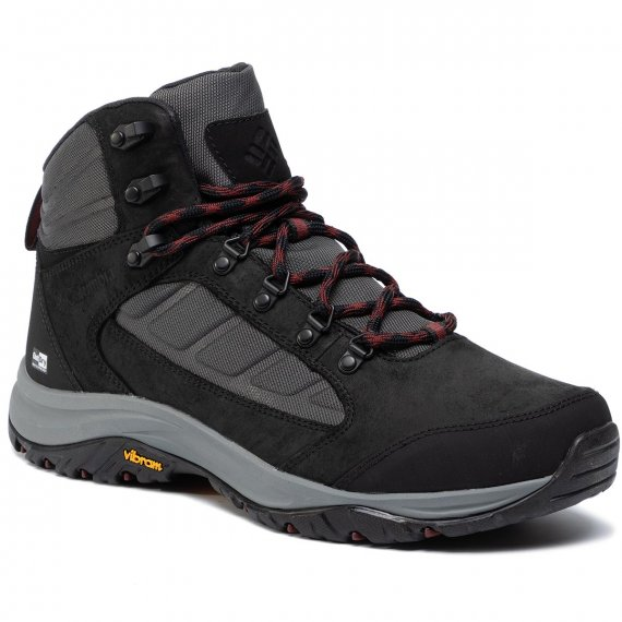 Trekkingi COLUMBIA - 100Mw Mid Outdry BM0812 Shark/Deep Rust 011