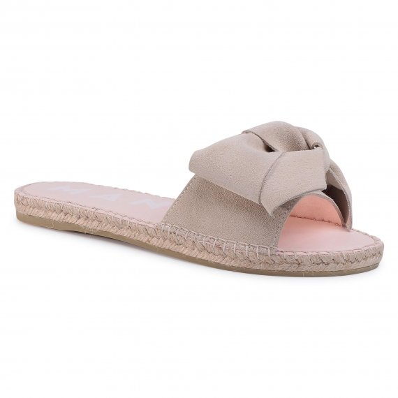 Espadryle MANEBI - Sandals With Bow K 1.1 J0 Champagne Beige