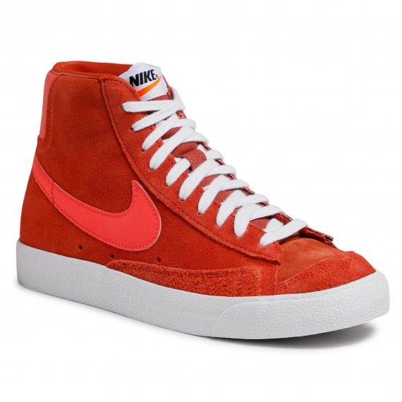 Buty NIKE - Blazer Mid '77 Vntg Suede Mix Mantra Orange/Bright Crimson