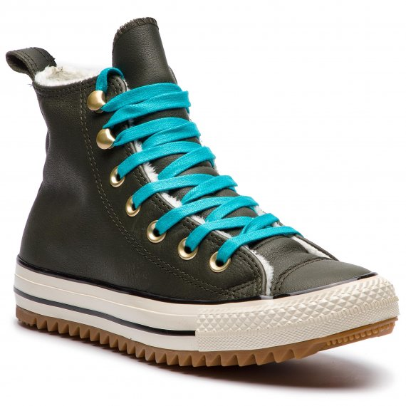 Sneakersy CONVERSE - Ctas Hiker Boot Hi 162478C Utility Green/Rapid Teal