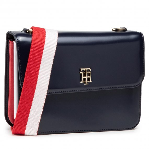 Torebka TOMMY HILFIGER - Th Staple Crossover AW0AW09695 DW5