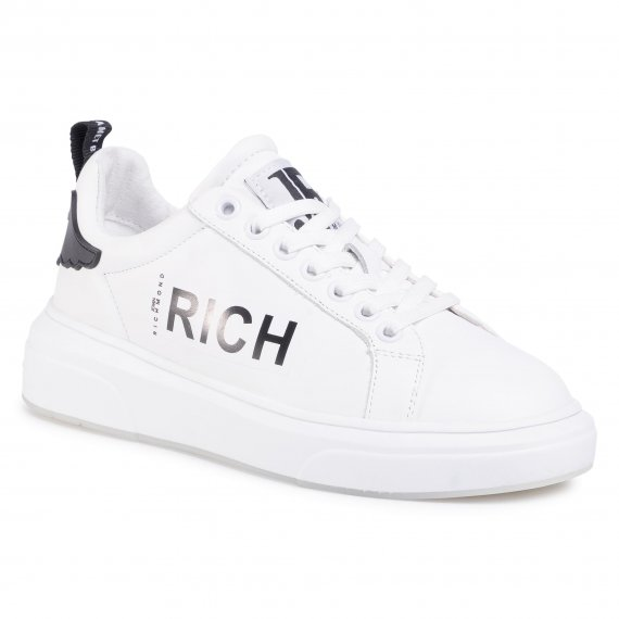 Sneakersy JOHN RICHMOND - 1230 C Bianco