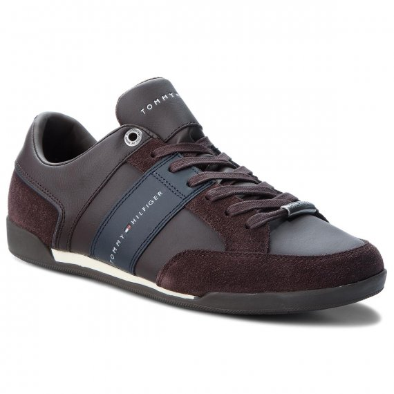 Sneakersy TOMMY HILFIGER - Corporate Material M FM0FM01778 Coffee Bean 212