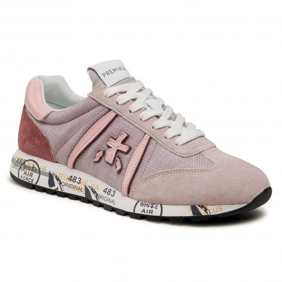 Sneakersy PREMIATA - Lucyd 5102 Lilac/Light Pink/White