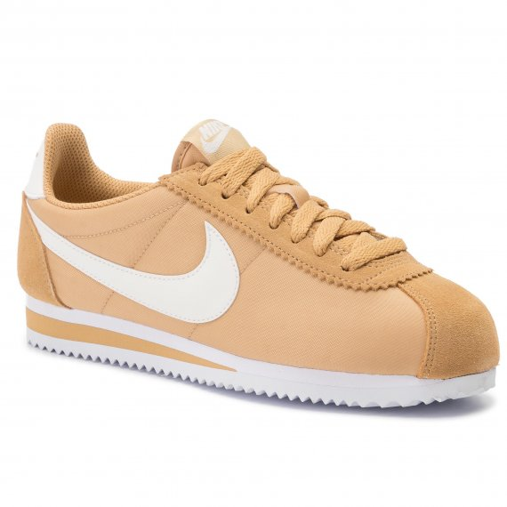 Buty NIKE - Classic Cortez Nylon 749864 701 Club Gold/Sail/White