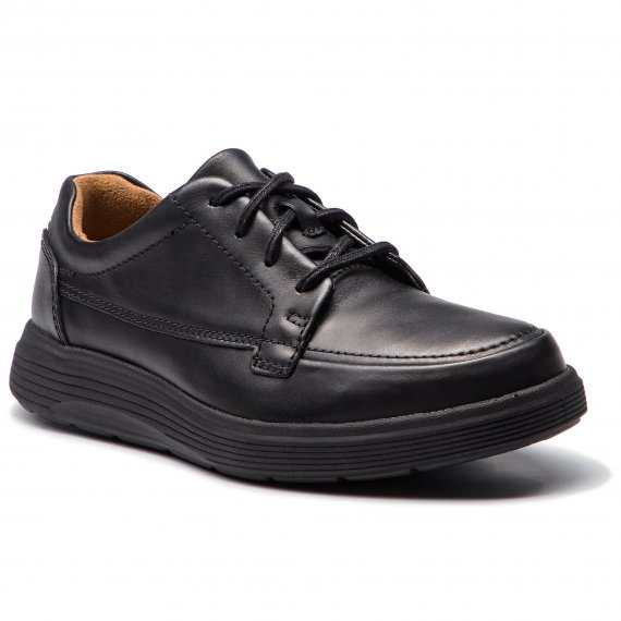 Półbuty CLARKS - Un Abode Ease 261369847 Black Leather