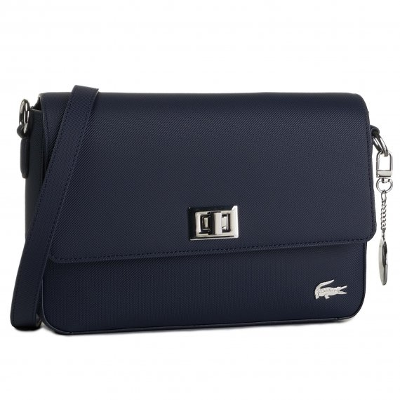 Torebka LACOSTE - Flap Crossover Bag NF2770DC Peacoat 021