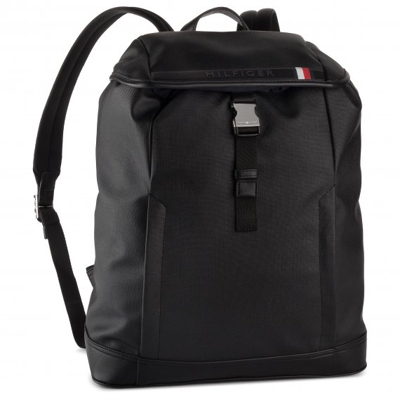 Plecak TOMMY HILFIGER - Coated Canvas Backpack AM0AM04895 002