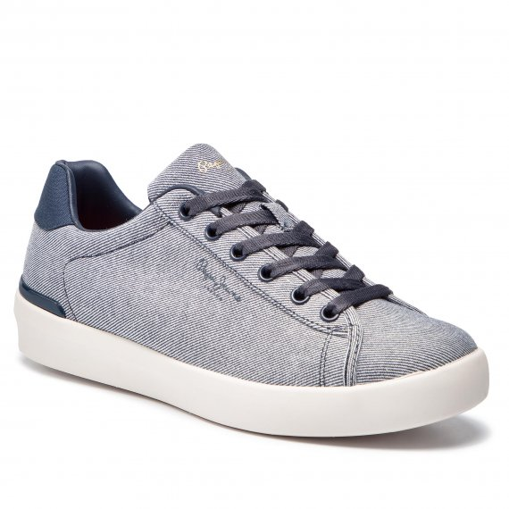 Sneakersy PEPE JEANS - Roland Basic PMS30543 Marine 585