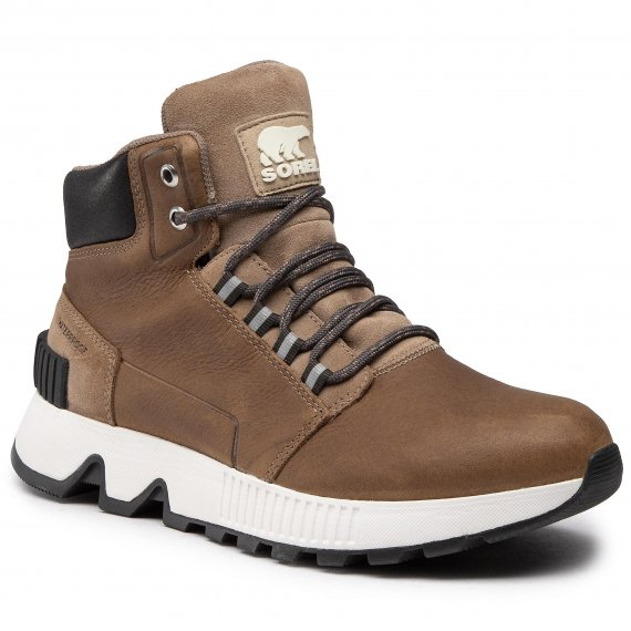 Trzewiki SOREL - Mac Hill Mid Ltr Wp NM3857 Khaki II 297