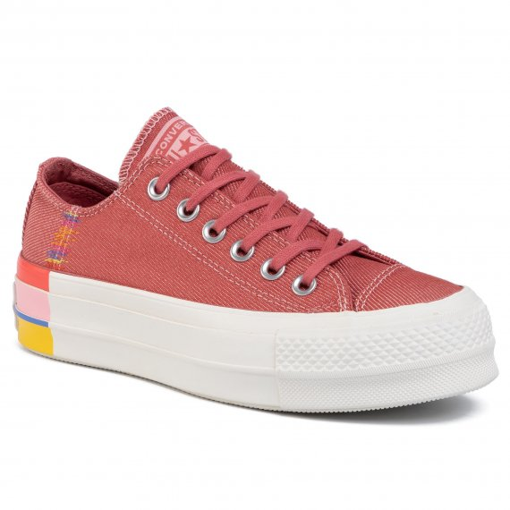 Sneakersy CONVERSE - Ctas Lift Ox 564995C  Coastal Pink/Light Redwood
