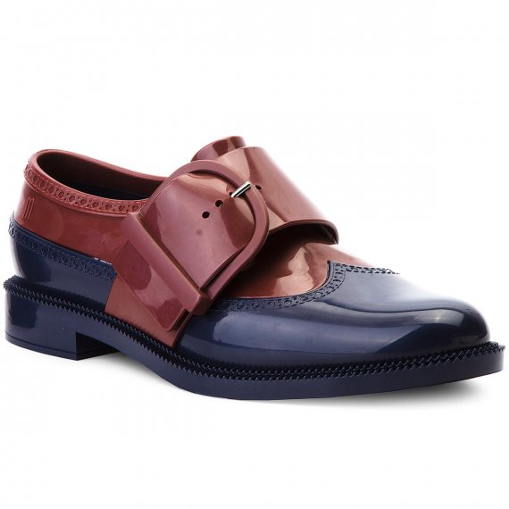 Półbuty MELISSA - Classic Brogue Special 32394 Blue/Dark Red 53334