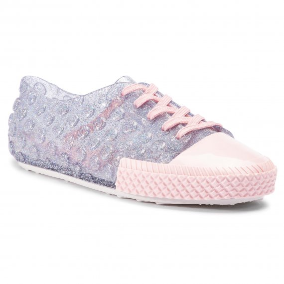 Półbuty MELISSA - Polibolha Sneaker Ad 32435 Clear Glitter/Pink/White 53475