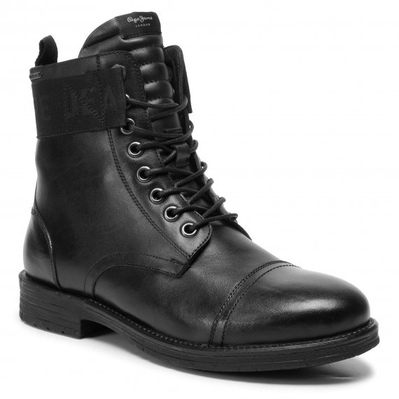 Trzewiki PEPE JEANS - Tom Cut Boot Toto PMS50171 Black 999