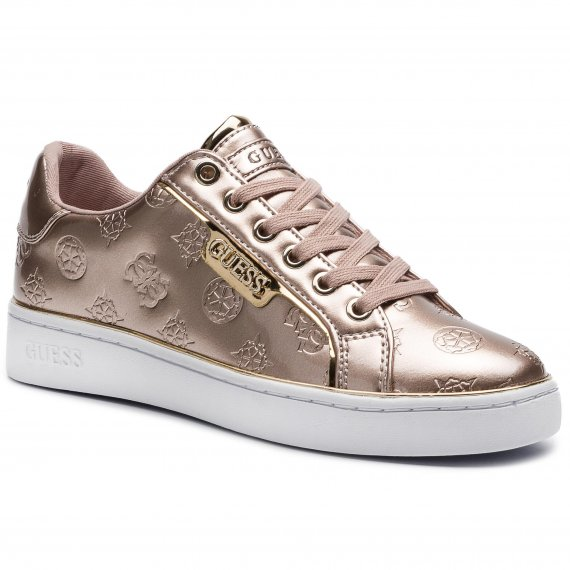 Sneakersy GUESS - Banq FL7BAN PAF12 BEIGE