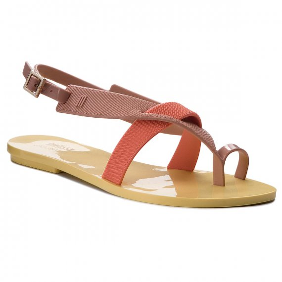 Sandały MELISSA - Girl Sandal + Jason Wu 32321 Yellow/Pink/Orange 53301