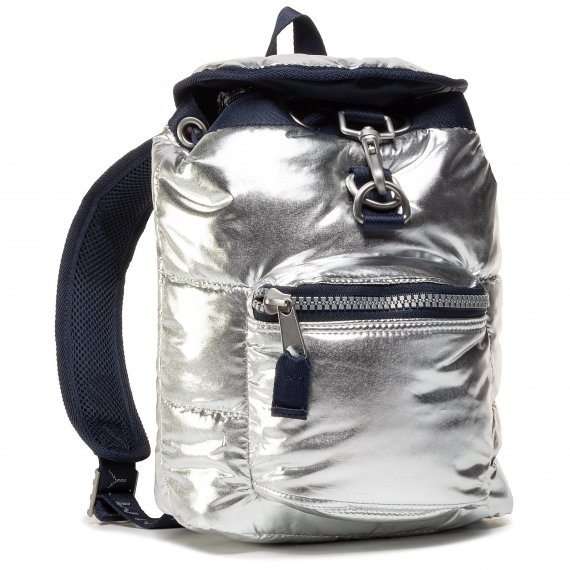 Plecak TOMMY JEANS - Tjw Heritage Sm Puffer Backpack AW0AW09108 GRY