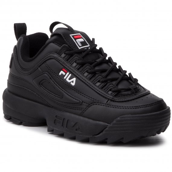 Sneakersy FILA - Disruptor Low Wmn 1010302.12V Black/Black