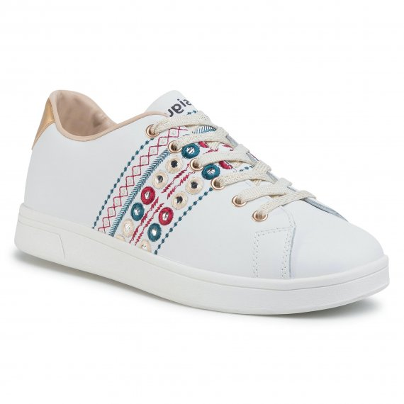 Sneakersy DESIGUAL - Cosmic New Exotic 20SSKL03 1000