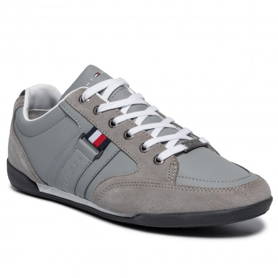Sneakersy TOMMY HILFIGER - Corporate Material Mix Coupsole FM0FM02398 Griffin 007